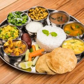 Vegetarian-Thali-plate